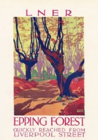 Epping Forest - LNER poster
